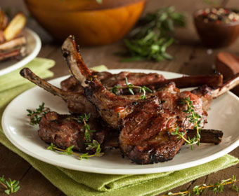 Grass fed & Finished Lamb from Taylor family farm
